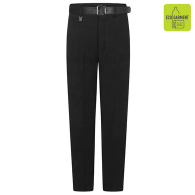 Elastic Belted Trouser - Navy | Grey | Black Black / 13 YRS School Uniform Centres Shorts school-uniform-centres.myshopify.com Schoolwear Centres