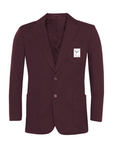Belfairs Academy - Boys Maroon Blazer with School Logo | School Uniform Centres