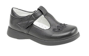 Boulevard (C732A) Velcro - Touch Fastening Boat Shoe - Schoolwear Centres | School Uniform Centres