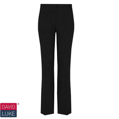 "Girls Slim Leg Trouser | Black | Navy | Grey Black / 36"" L Schoolwear Centres Slim Fit Trousers school-uniform-centres.myshopify.com Schoolwear Centres"