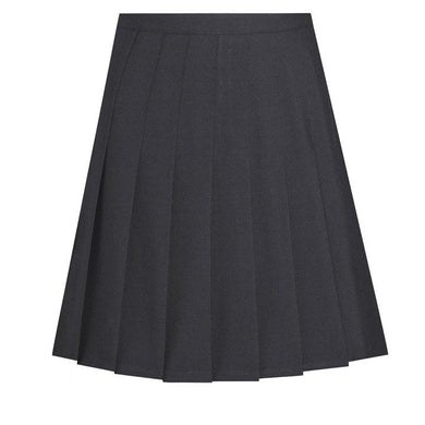 Stitched Down Knife Pleat Skirt Black / 28/24 (14 Yrs) Schoolwear Centres Skirts school-uniform-centres.myshopify.com Schoolwear Centres