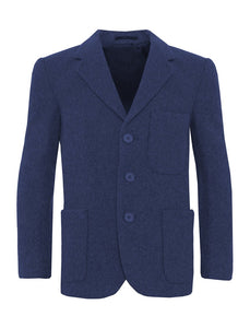 Flannel Boys Zip Entry Blazer - Schoolwear Centres | School Uniform Centres