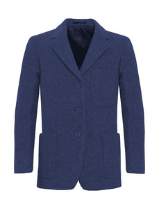 Flannel Girls Zip Entry Blazer - Schoolwear Centres | School Uniform Centres