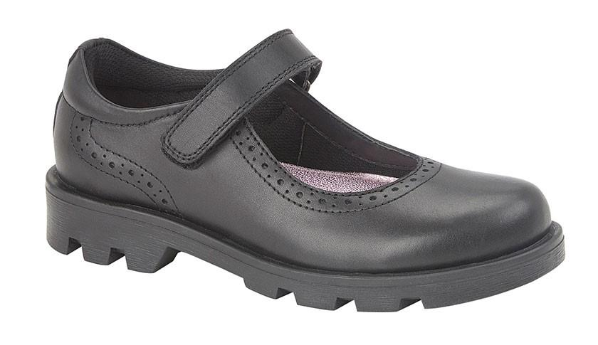 ROAMERS [KIDS G192A] Touch Fastening Bar Shoe - Schoolwear Centres | School Uniform Centres