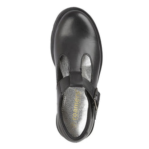 Roamers' (G705A) Black Leather School Shoe  Schoolwear Centres Shoes school-uniform-centres.myshopify.com Schoolwear Centres