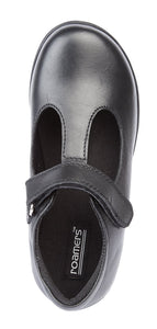 ROAMERS  [KIDS]  Touch Fastening T-Bar Girls Shoe - Schoolwear Centres | School Uniform Centres