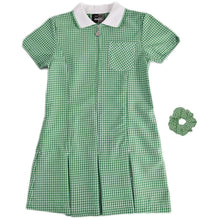 "Gingham Summer Dress & Gingham Sun Hat 34"" 13 Yrs / Bottle School Uniform Centres Dress school-uniform-centres.myshopify.com Schoolwear Centres"