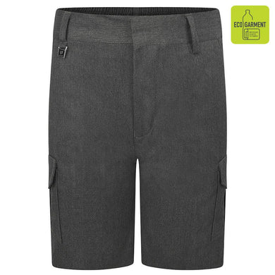 Cargo Summer Shorts Grey / 15/16 Yrs School Uniform Centres Shorts school-uniform-centres.myshopify.com Schoolwear Centres
