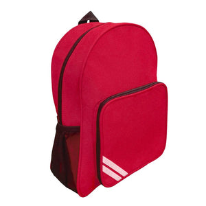 Lee Chapel Primary School - Infant & Junior Backpack with School logo Red Backpack / Infant (35cm X 23cm X 15cm) School Uniform Centres BACKPACK school-uniform-centres.myshopify.com Schoolwear Centres