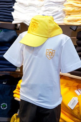 The Wickford Infant School - Baseball Cap & Beanie Hat with School Logo Yellow / Baseball Cap School Uniform Centres Caps school-uniform-centres.myshopify.com Schoolwear Centres