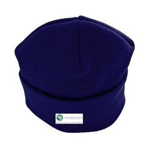 The Willows Primary School - Navy Baseball Cap & Beanie Hat with School Logo Navy / Beanie Hat School Uniform Centres Caps school-uniform-centres.myshopify.com Schoolwear Centres