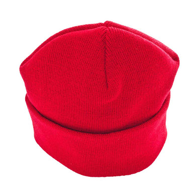 Knitted Ski (Beanie) Hats | Red | Purple | Gold | Brown | Royal | Brown | Bottle | Black | Navy | Grey Red / ONE SIZE Schoolwear Centres Hat school-uniform-centres.myshopify.com Schoolwear Centres