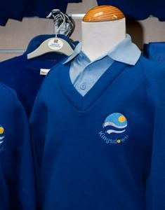 Kingsdown School - Ensign Knitwear (Knitted) Jumper with School Logo | School Uniform Centres