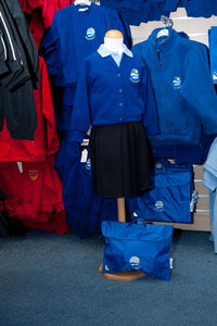 Kingsdown School - Ensign Knitwear (Knitted) Cardigan with School Logo - Schoolwear Centres | School Uniform Centres