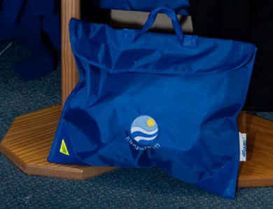 Kingsdown School - Royal Bookbag with School Logo - Schoolwear Centres