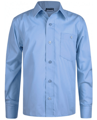 Long Sleeve Sky Shirts - Twin Pack - Schoolwear Centres | School Uniform Centres
