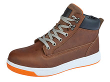 GRAFTERS  Safety Trainer Boot Brown Action / 47 Schoolwear Centres Shoes school-uniform-centres.myshopify.com Schoolwear Centres