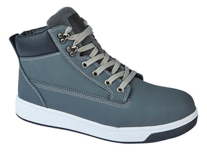 GRAFTERS  Safety Trainer Boot Grey Action / 47 Schoolwear Centres Shoes school-uniform-centres.myshopify.com Schoolwear Centres