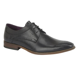 GOOR (M298) 3 Eye Brogue Gibson Black / 13 Schoolwear Centres Shoes school-uniform-centres.myshopify.com Schoolwear Centres