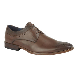 GOOR (M298) 3 Eye Brogue Gibson Brown / 13 Schoolwear Centres Shoes school-uniform-centres.myshopify.com Schoolwear Centres