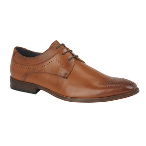 GOOR (M298) 3 Eye Brogue Gibson Tan / 13 Schoolwear Centres Shoes school-uniform-centres.myshopify.com Schoolwear Centres