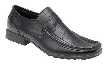 Route 21 Black Leather Shoe B329A - Schoolwear Centres | School Uniform Centres