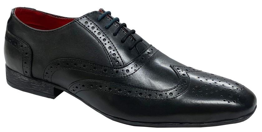 ROUTE 21 (M331) 5 Eye Brogue Oxford Shoe - Schoolwear Centres | School Uniform Centres