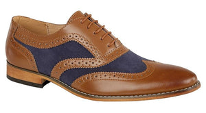 GOOR  5 Eye Brogue Oxford Shoe - Schoolwear Centres | School Uniform Centres
