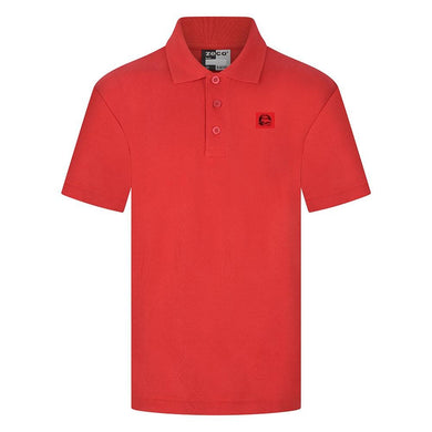 Mayflower High School - Red Polo Shirts with School Logo RED / 46 School Uniform Centres Polo Shirts school-uniform-centres.myshopify.com Schoolwear Centres