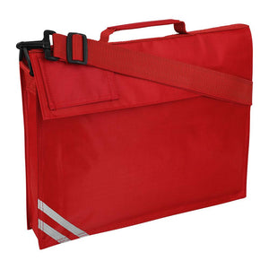 Premium (Plain) Book Bag with Strap (Available in 8 Colours) Red / One Size (37cm X 30cm X 6cm) School Uniform Centres BOOK BAGS school-uniform-centres.myshopify.com Schoolwear Centres