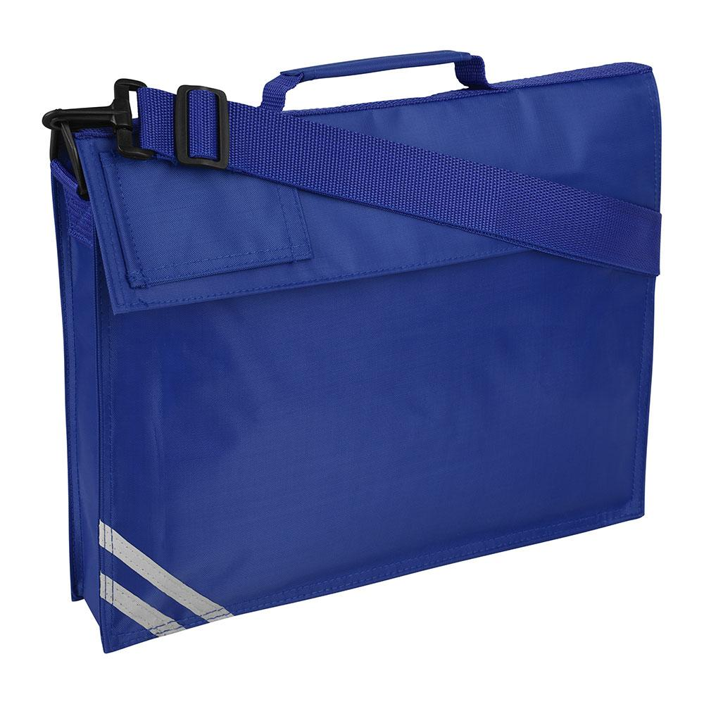 Premium (Plain) Book Bag with Strap (Available in 8 Colours) Royal / One Size (37cm X 30cm X 6cm) School Uniform Centres BOOK BAGS school-uniform-centres.myshopify.com Schoolwear Centres