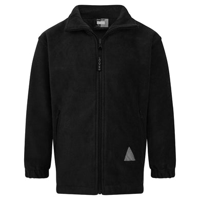 Polar (Winter) Fleece Jackets | Black | Navy | Brown | Red | Purple | Royal | Bottle | Maroon BLACK / 44 School Uniform Centres Winter Jackets school-uniform-centres.myshopify.com Schoolwear Centres