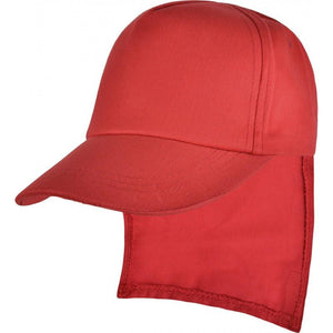Saint Ursula's Catholic Infant School - Red / Legionnaire Caps and Beanie Hats with School Logo CAPS/HATS / Red Legionnaire Cap School Uniform Centres Caps school-uniform-centres.myshopify.com Schoolwear Centres