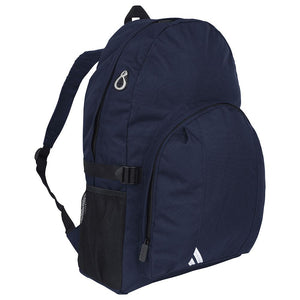 Senior Backpack (Available in Black and Navy Colours) Navy / One Size (41cm X 30cm X 18cm) School Uniform Centres BACKPACK school-uniform-centres.myshopify.com Schoolwear Centres