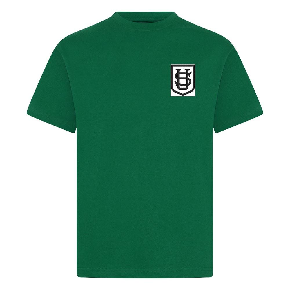 Saint Ursula's Catholic School - T-Shirt with School Logo (Four Colours) - Schoolwear Centres | School Uniform Centres