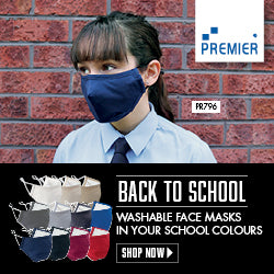 Protective 3-layer fabric mask  Schoolwear Centres Covid-19 school-uniform-centres.myshopify.com Schoolwear Centres