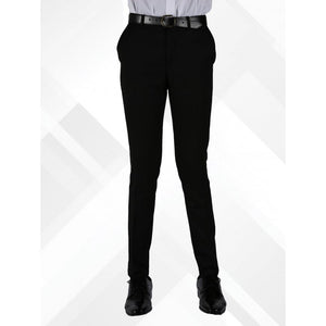 Senior Boys Skinny Fit Trousers | Black  Schoolwear Centres Slim Fit Trousers school-uniform-centres.myshopify.com Schoolwear Centres