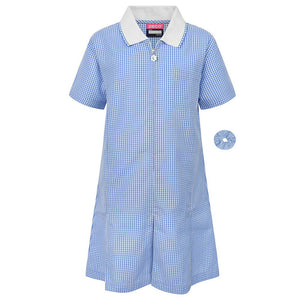 Gingham Summer Dress & Gingham Sun Hat - Schoolwear Centres | School Uniform Centres