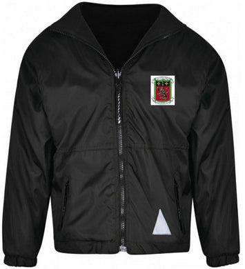 Saint Pierre School - Black Reversible Jacket with School Logo - Schoolwear Centres | School Uniform Centres