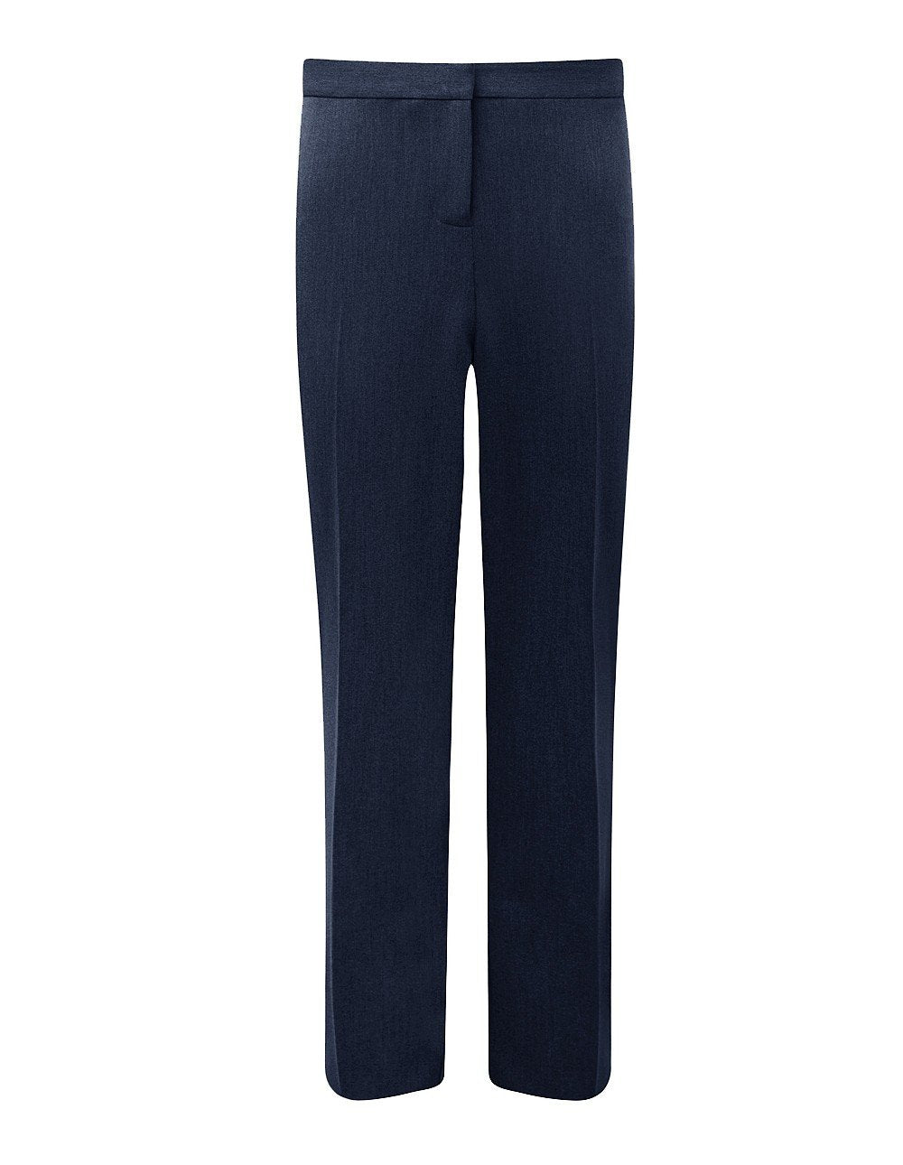 "Trimley Girls Slim-fit Trousers (available in Black, Navy & Mid-Grey colours) Navy / 38"" Waist 33 Length School Uniform Centres Trousers school-uniform-centres.myshopify.com Schoolwear Centres"
