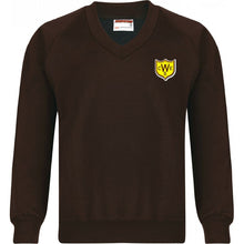 The Wickford Infant School - Sweatshirt (R-neck & V-neck) Jumpers with School Logo BROWN (V-neck) / 44 School Uniform Centres Sweatshirts school-uniform-centres.myshopify.com Schoolwear Centres