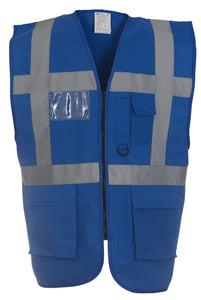 Multi-functional executive hi-vis waistcoat - Schoolwear Centres | School Uniform Centres