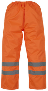 "Hi-vis waterproof overtrousers Orange / 3XL 52/54"" Schoolwear Centres Accessories school-uniform-centres.myshopify.com Schoolwear Centres"