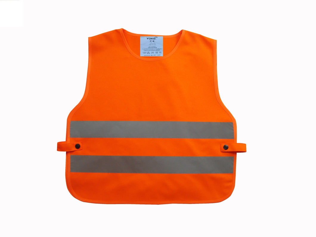 Kids hi-vis 2-band tabard Orange / One Size Schoolwear Centres Accessories school-uniform-centres.myshopify.com Schoolwear Centres