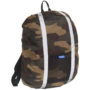 Hi-vis rucksack cover Camouflage / One Size School Uniform Centres Hodall school-uniform-centres.myshopify.com Schoolwear Centres