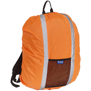 Hi-vis rucksack cover Orange / One Size School Uniform Centres Hodall school-uniform-centres.myshopify.com Schoolwear Centres
