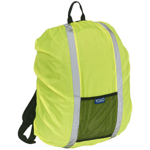 Hi-vis rucksack cover Yellow / One Size School Uniform Centres Hodall school-uniform-centres.myshopify.com Schoolwear Centres