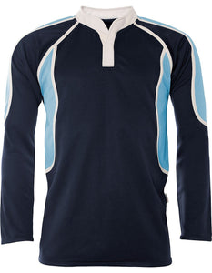 "Chase High School - Pro Tec Rugby Top Navy/Sky NAVY/SKY / 50"" - 52"" Chest School Uniform Centres RUGBY TOP school-uniform-centres.myshopify.com Schoolwear Centres"