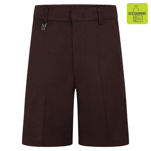 School Summer Shorts Brown / 13 YRS School Uniform Centres Shorts school-uniform-centres.myshopify.com Schoolwear Centres