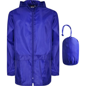 Waterproof Cagoules | Black | Royal | Navy | Red - Schoolwear Centres | School Uniform Centres